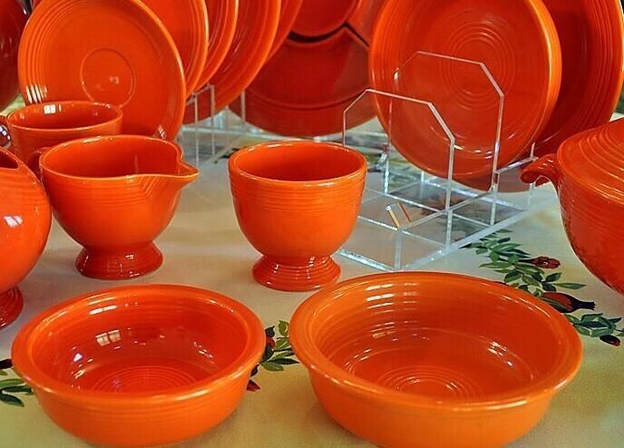 Старая глиняная посуда, 1930-1940х годов