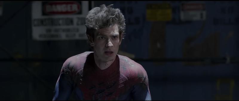 8. Эндрю Гарфилд, «Новый Человек-паук»