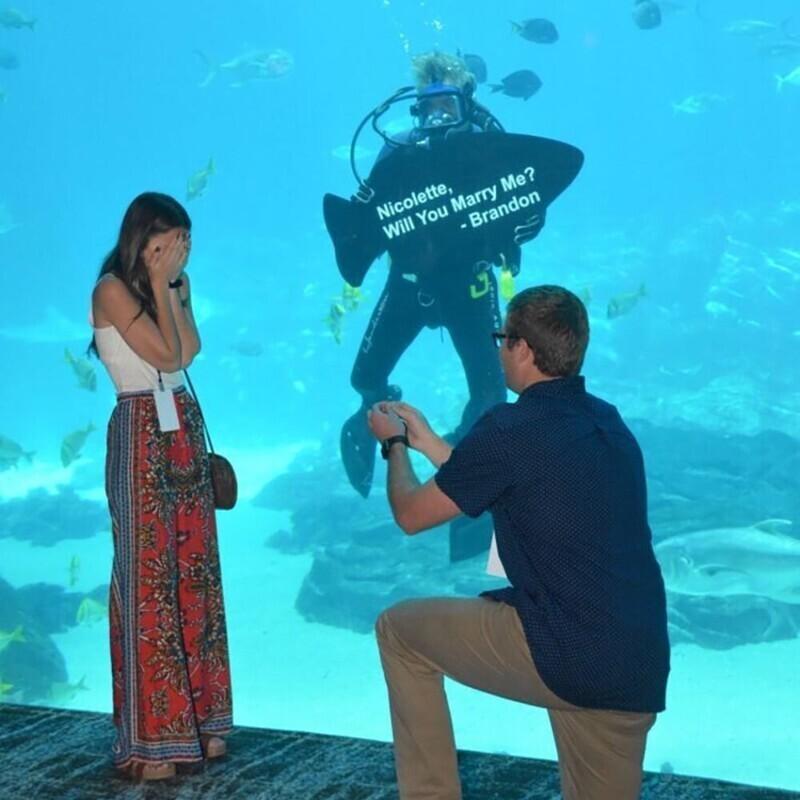 30 безумных способов позвать ее замуж