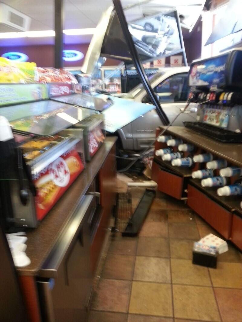 Кажется, кто-то очень торопился в магазин