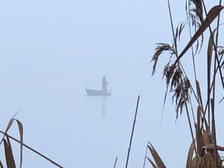 27. Рыбалка в очень сильном тумане