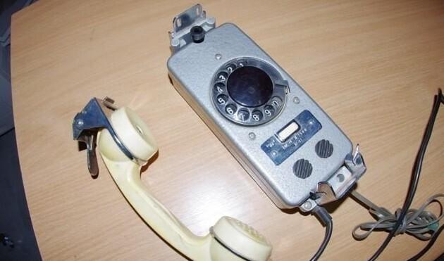 """16. Дисковый телефон """"ТАС-М 7500"""",  1987 года"""