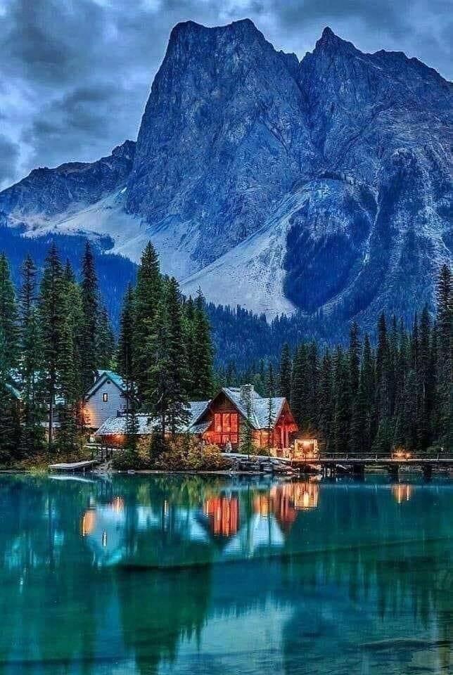 45. Изумрудное озеро, Канада