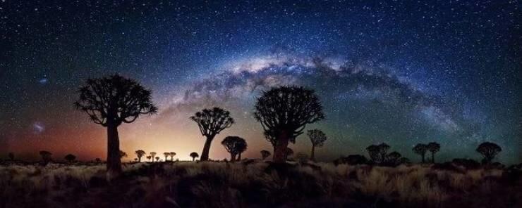 19. Южная Африка ночью