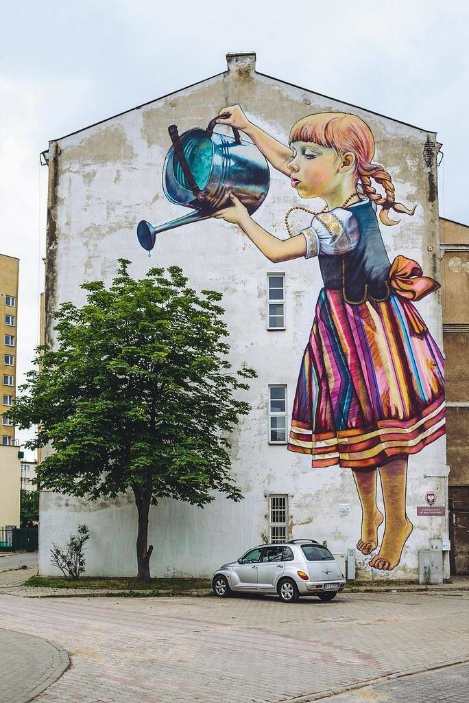 41. Граффити в польском городе Белосток