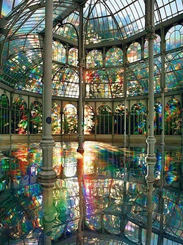 44. Радужный зал в Хрустальном дворце, Мадрид