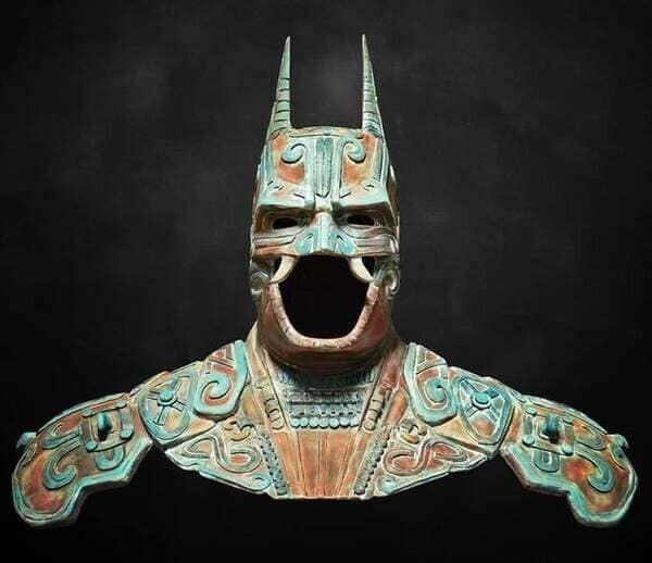 7. Бэтмен майя