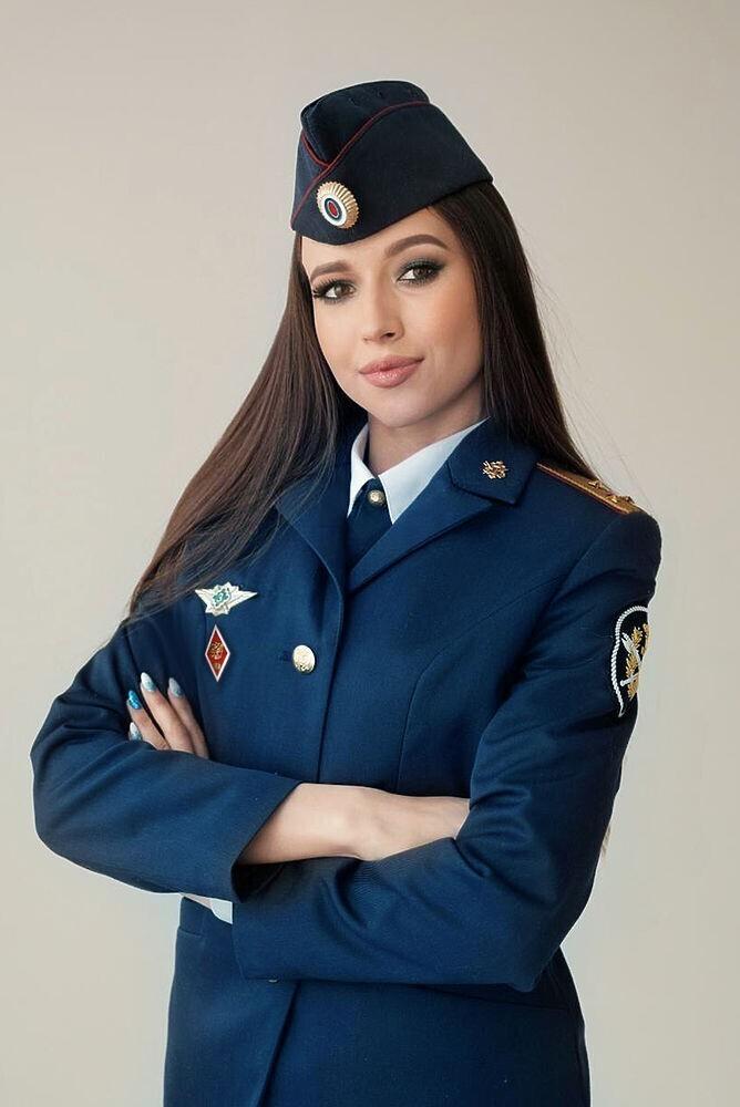 Вероника Швед, старший лейтенант внутренней службы ГУФСИН России по Челябинской области