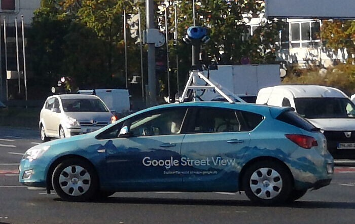 21. Водитель Google Street View