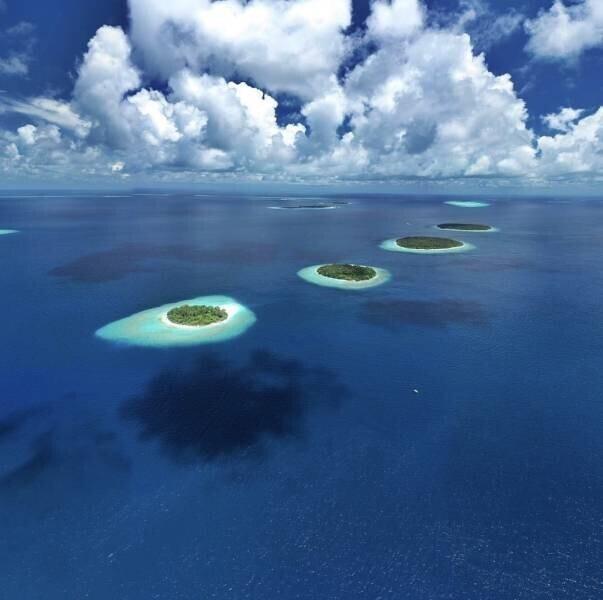 Жемчужины в океане
