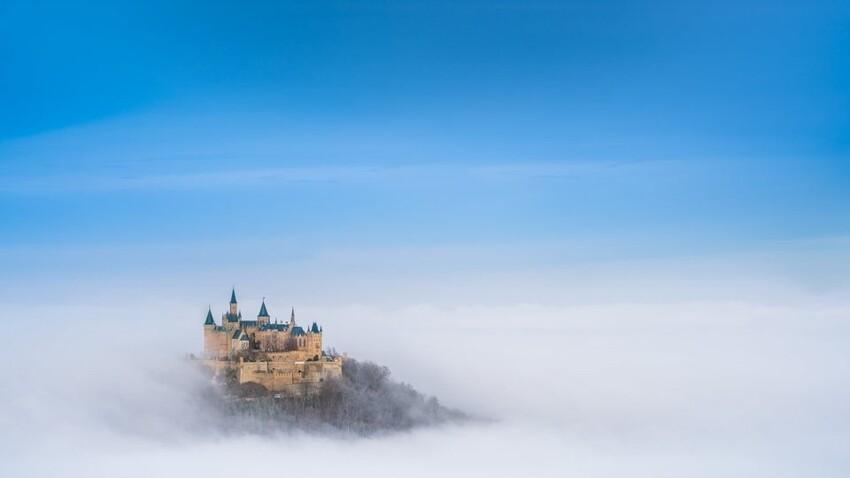 Облачный замок в Германии
