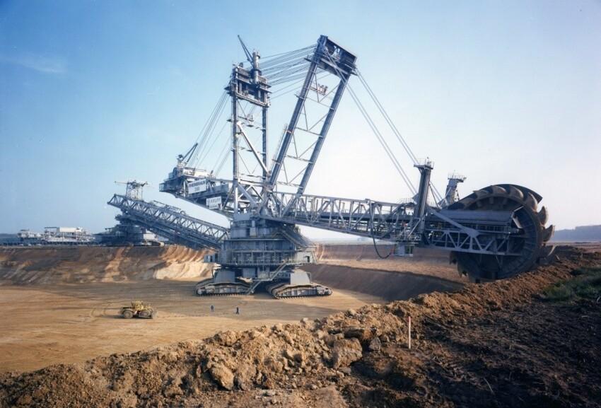 Баггер 288, самый большой экскаватор в мире