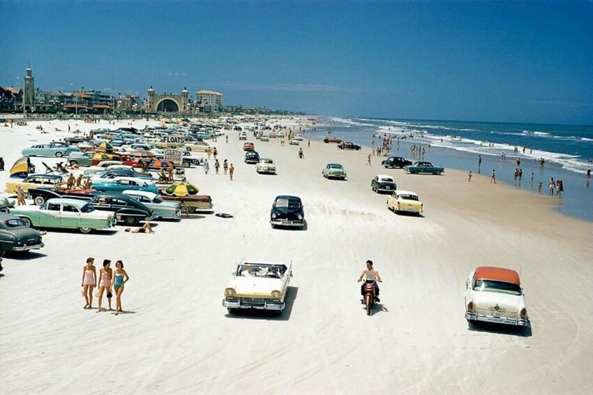 Дейтона-Бич, Флорида, 1957