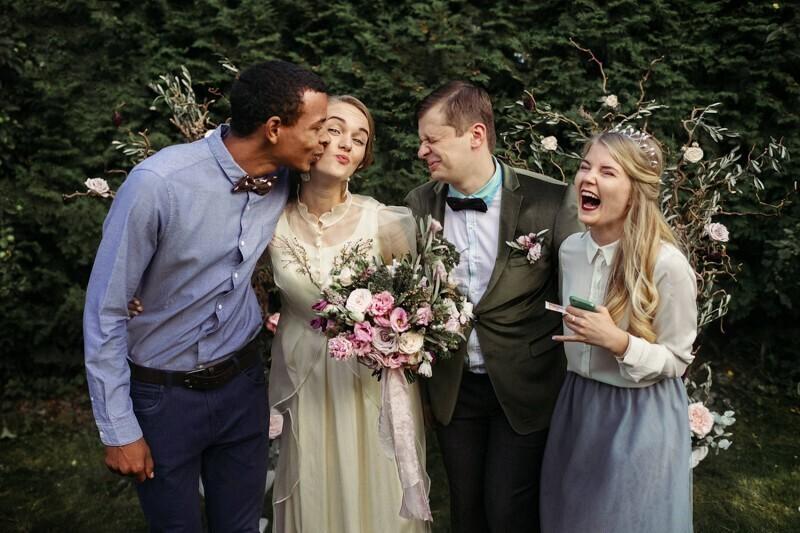 Невеста перепутала или у них свободные отношения?