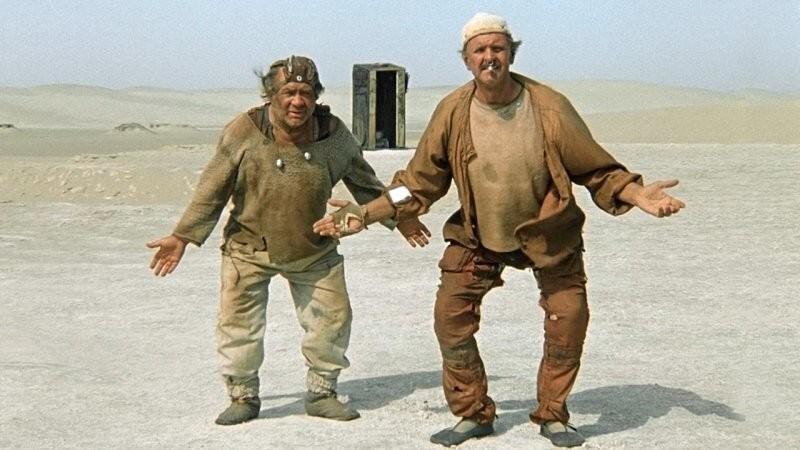 Фантастический антураж известного советского кино