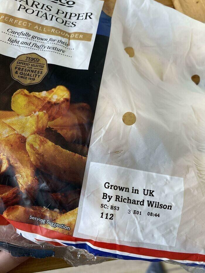 В Великобритании фермеры начали подписывать выращенные ими овощи своим именем на упаковках для продажи
