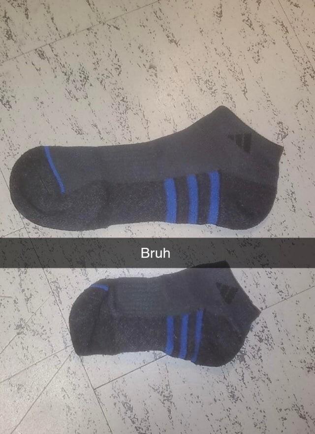 Стиральная машина в кампусе моего двоюродного брата уменьшила его носок