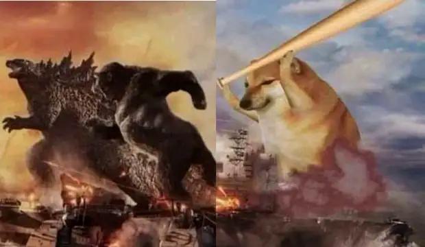 Чимс против Годзиллы и Конга