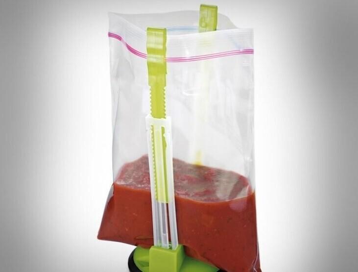 Подставка для пакетов с сыпучими или жидкими продуктами
