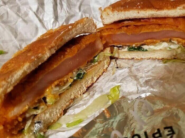 14. Сэндвич с курицей