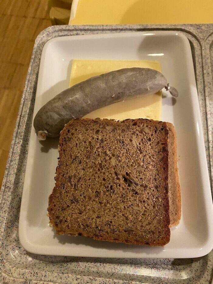 Обед в госпитале в Германии