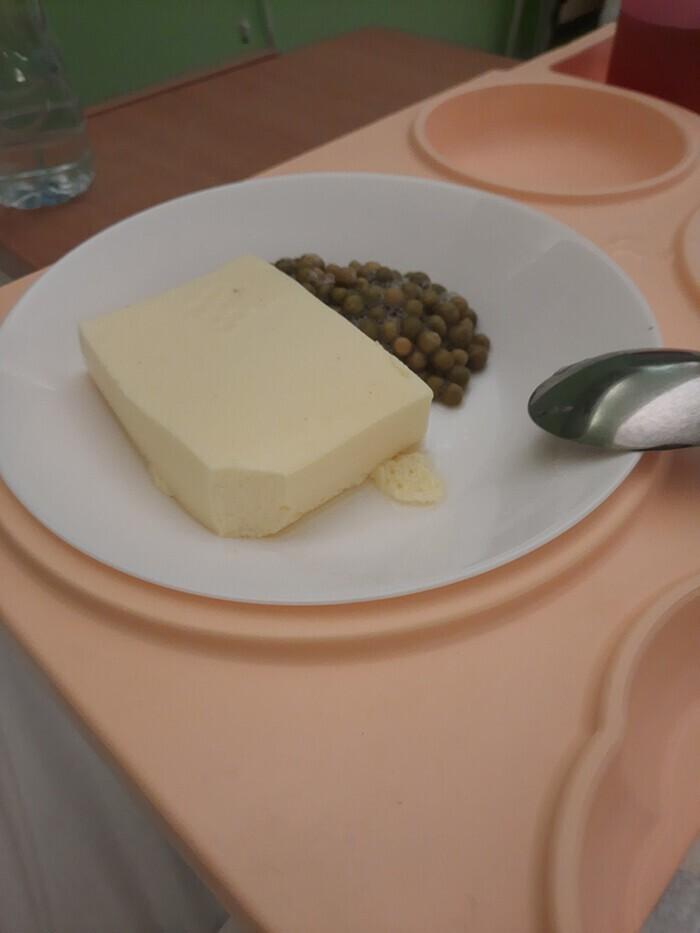 Больничный завтрак в Литве