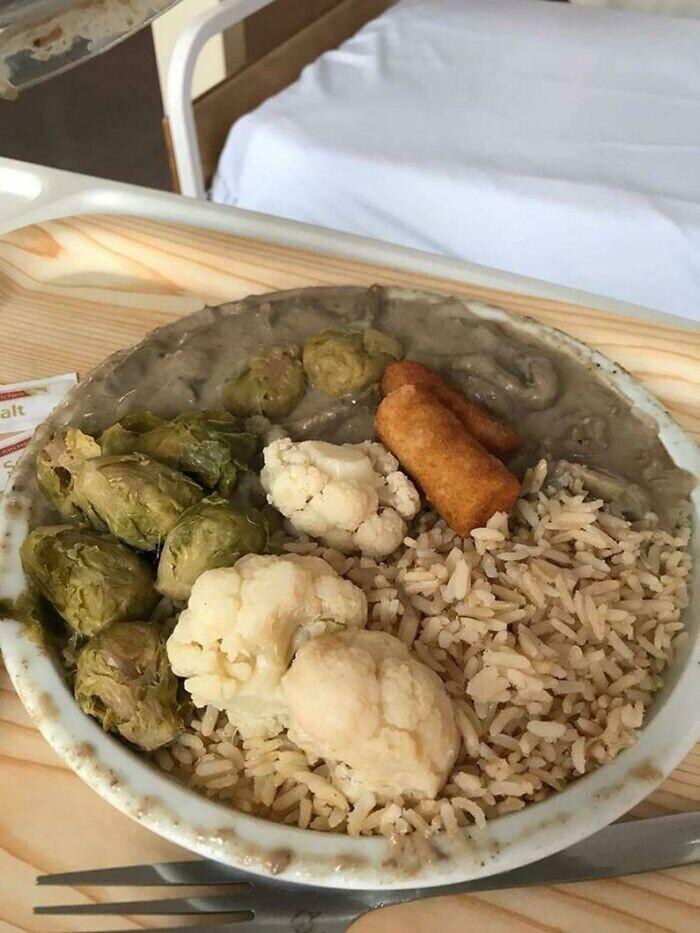 Обед в роддоме в Ирландии