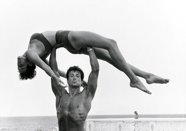 8. Сильвестр Сталлоне и Бриджит Нильсен, Лонг-Айленд, 1987 год