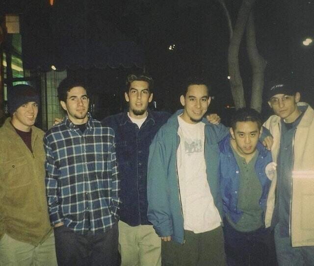 13. Самое первое фото Linkin Park как группы (90-е)