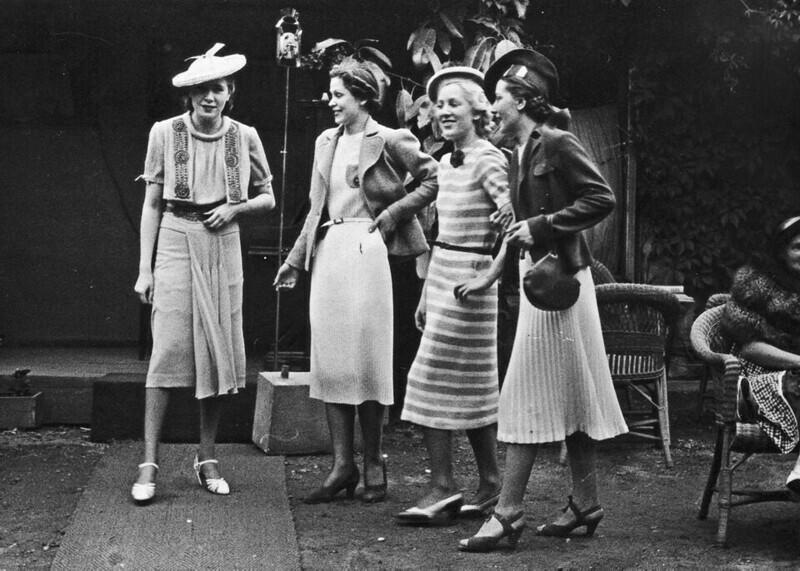 19. Уличная мода, 1938 г.