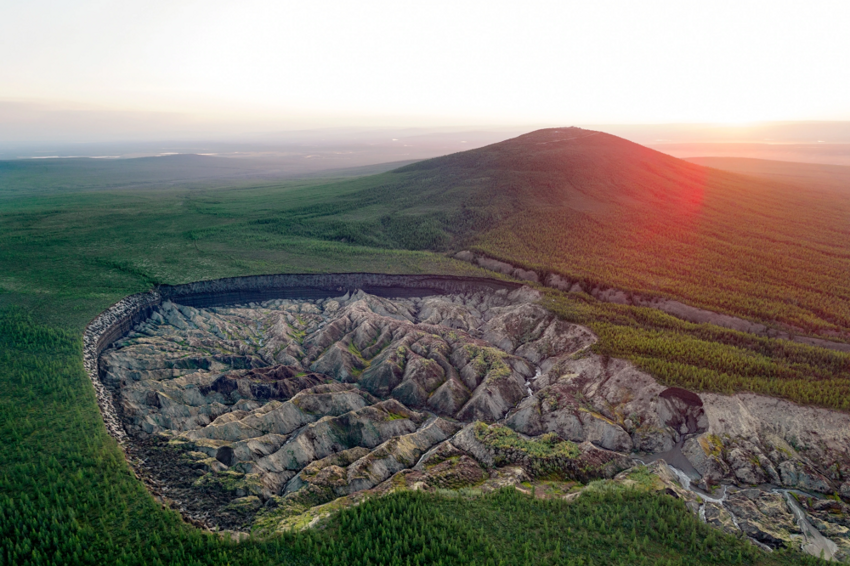 5 масштабных отверстий, ведущих вглубь Земли