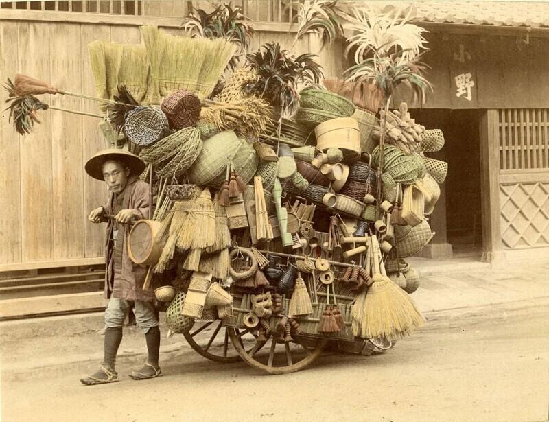 Японский торговец в 1901 году