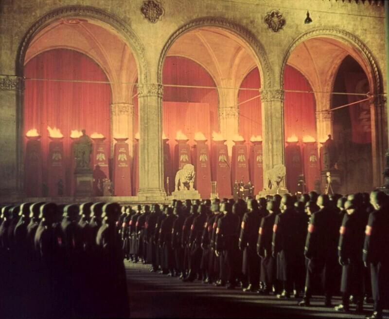 Нацистская церемония до Второй мировой войны, Германия