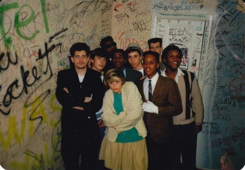 Группа No Doubt в Лонг-Бич, Калифорния, 1987