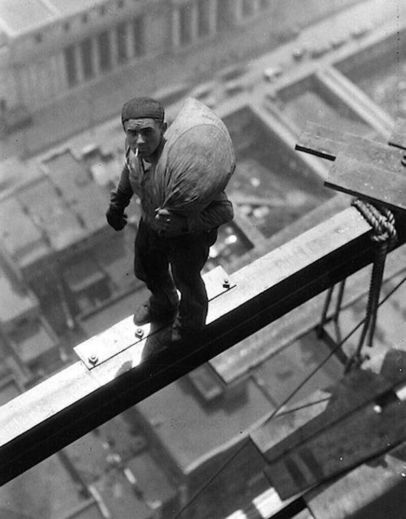 Рабочий на Уолл-стрит, 1930 год