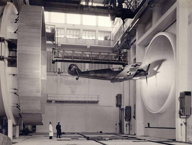 Немцы испытывают истребитель Messerschmitt Bf.109, 1935