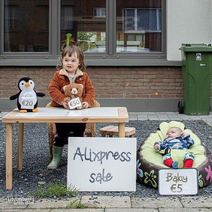 Аликс устроила распродажу ненужных вещей