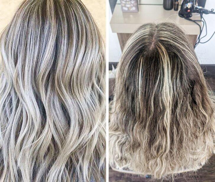 """4. Окрашивание волос по технике """"балаяж"""" - что просила и что получила"""