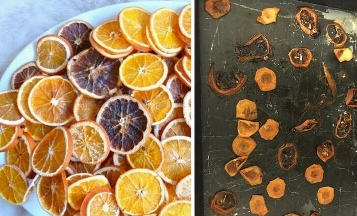 """15. """"Пытаюсь сделать сушеные апельсиновые кружочки"""""""