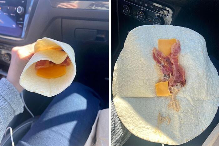 Сэндвич на завтрак. Почти диетический