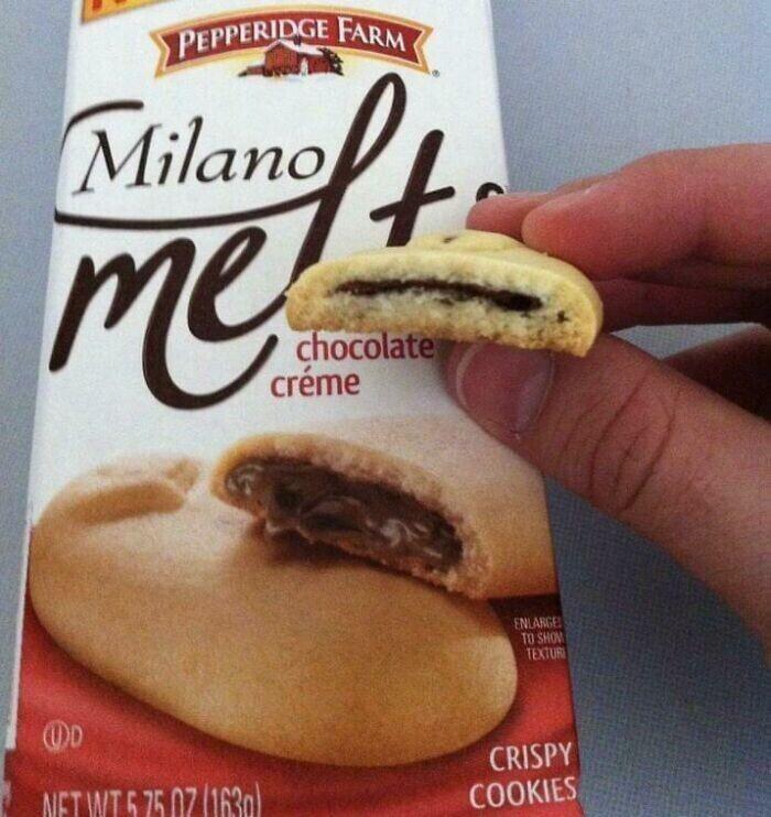 Шоколад съежился от стыда