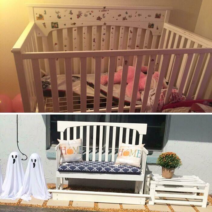 """8. """"Оба наших ребенка спали в этой кроватке первые 2,5 года своей жизни. Надеюсь, она прослужит еще 5 лет!"""""""