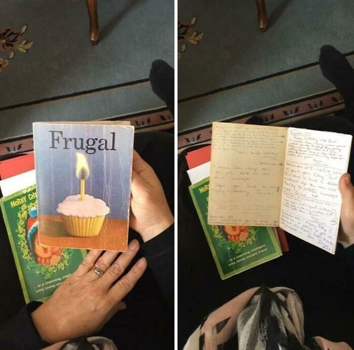 """9. """"Двоюродная бабушка моей жены в течение 35 лет обменивается с подругой одной и той же открыткой каждый год. До чего крутая получилась открытка и история за ней"""""""