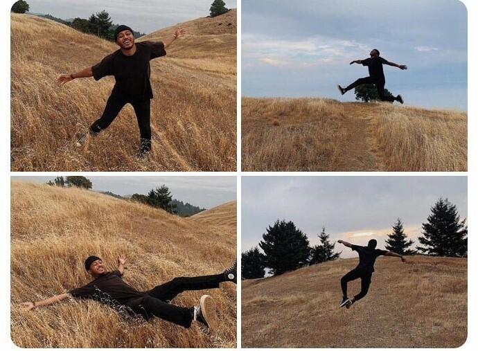 """""""Мне сегодня было очень весело, и я резвился в поле. О боже, как это классно!"""""""