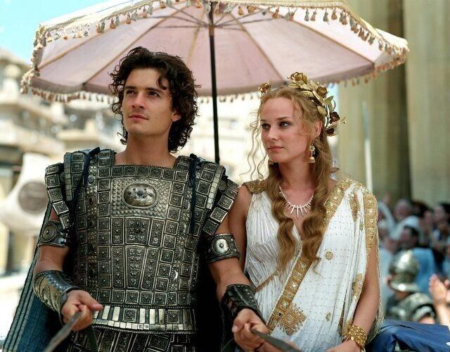 1. В Древней Трое не было зонтиков