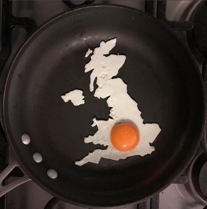 Самая необычная карта Британии