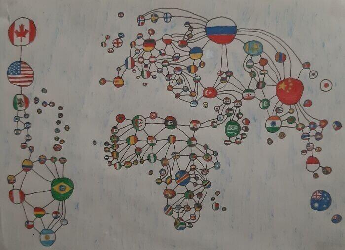 Карта мировых границ
