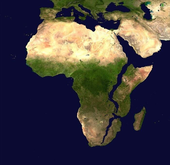 Такой будет Африка через 10 миллионов лет