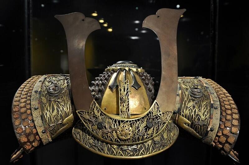 1. Самурайский шлем, принадлежащий клану Мицудаина, около 1730 г.