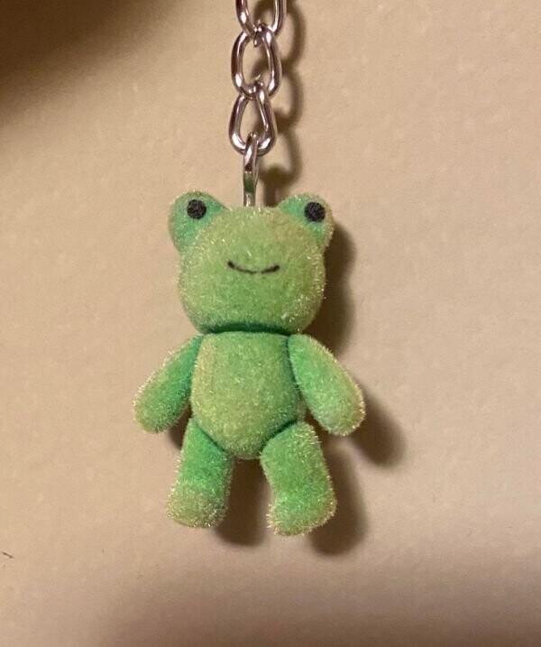 """10. """"Этот брелок в виде лягушки - просто брелок в виде медведя с нарисованными на ушах глазами"""""""